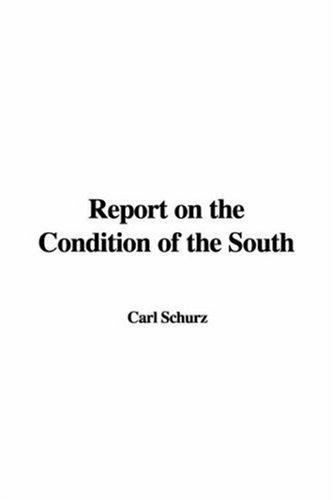 Download Report on the Condition of the South