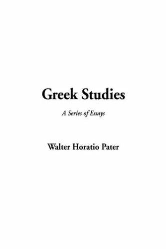 Download Greek Studies A Series Of Essays