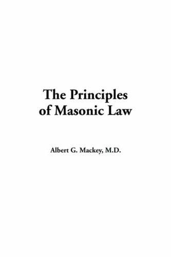 Download The Principles Of Masonic Law