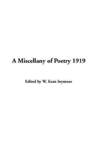 Download A Miscellany Of Poetry 1919