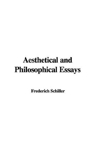 Download Aesthetical And Philosophical Essays