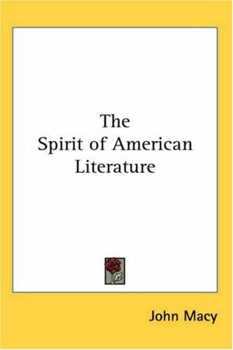 The Spirit of American Literature