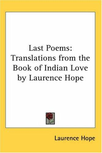 Download Last Poems: