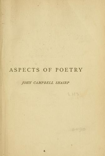 Download Aspects of poetry
