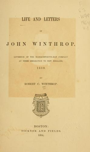 Download Life and letters of John Winthrop