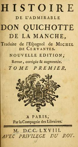 Download Histoire de l'admirable Don Quichotte de la Manche