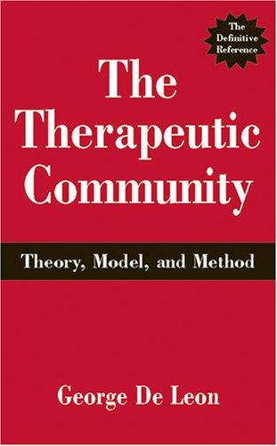 Download The Therapeutic Community