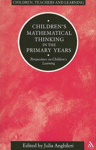 Children's Mathematical Thinking In the Primary Years