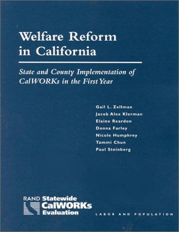 Download Welfare Reform in California