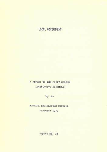 Download Local government
