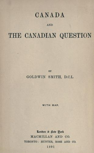 Download Canada and the Canadian question