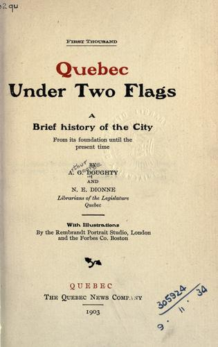 Quebec under two flags