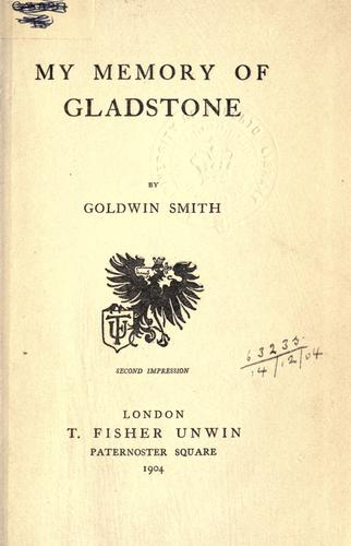 Download My memory of Gladstone.