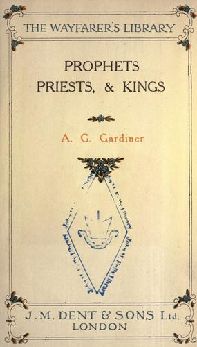 Download Prophets, priests, & kings