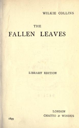 Download The fallen leaves.