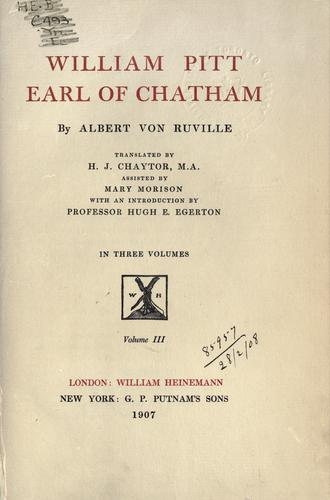 Download William Pitt, earl of Chatham