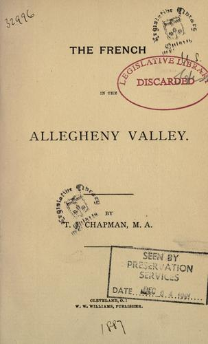 Download The French in the Allegheny Valley