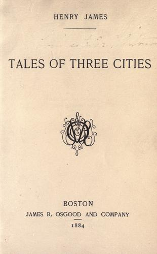 Download Tales of three cities.