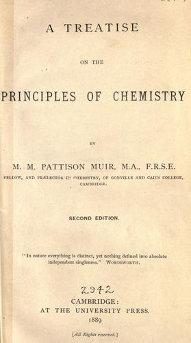Download A treatise on the principles of chemistry