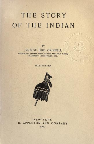 Download The story of the Indian.