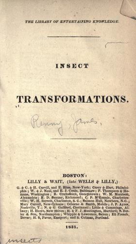 Download Insect transformations.