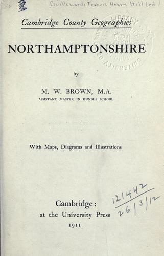Download Northamptonshire.