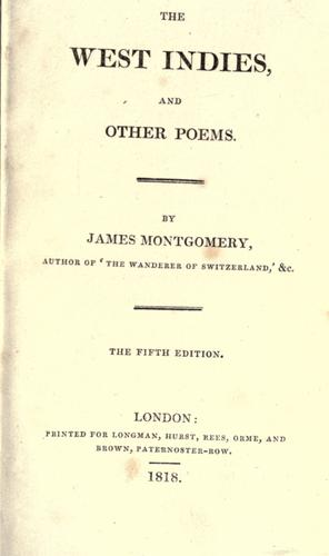 Download The West Indies, and other poems