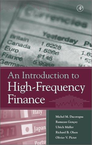 Image for An Introduction to High-Frequency Finance