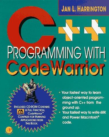 C++ programming with Code Warrior