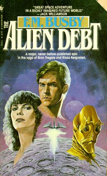 Cover of: Alien Debt | F. M. Busby