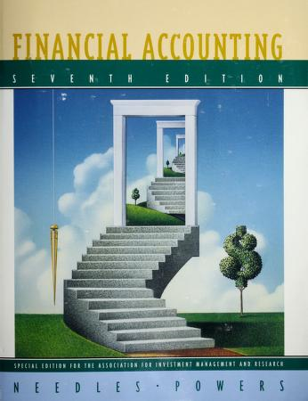 Cover of: Financial Accounting, Seventh Edition, Custom Publication | Belverd E. Needles