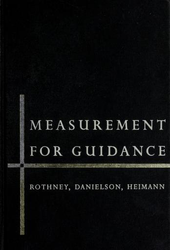 Measurement for guidance by John Watson Murray Rothney