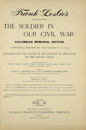 The soldier in our Civil War by Frank Leslie