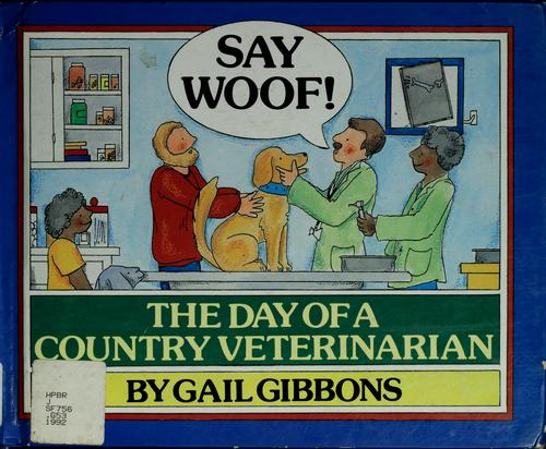 Say woof! by Gail Gibbons