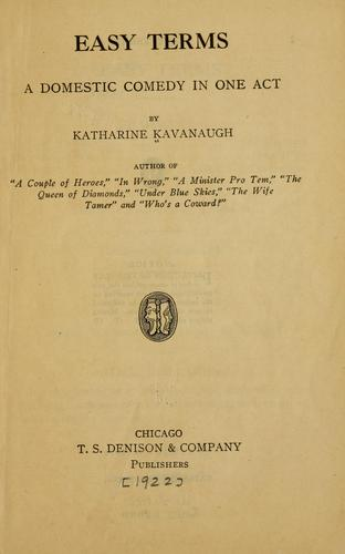 Easy terms by Katharine Kavanaugh