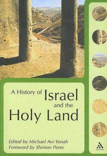 A History Of Israel And The Holy Land by Shimon (FWD) Peres