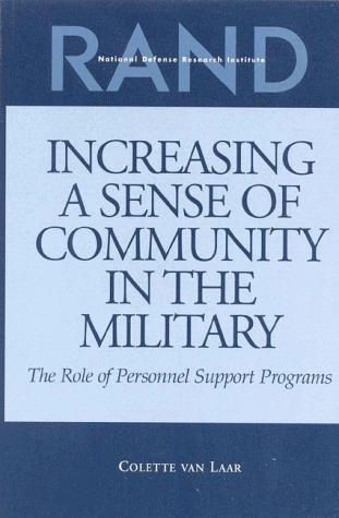 Increasing a Sense of Community in the Military by Collette van Laar