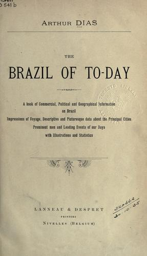The Brazil of to-day
