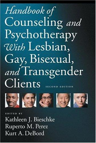 Image 0 of Handbook of Counseling and Psychotherapy with Lesbian, Gay, Bisexual, and Transg
